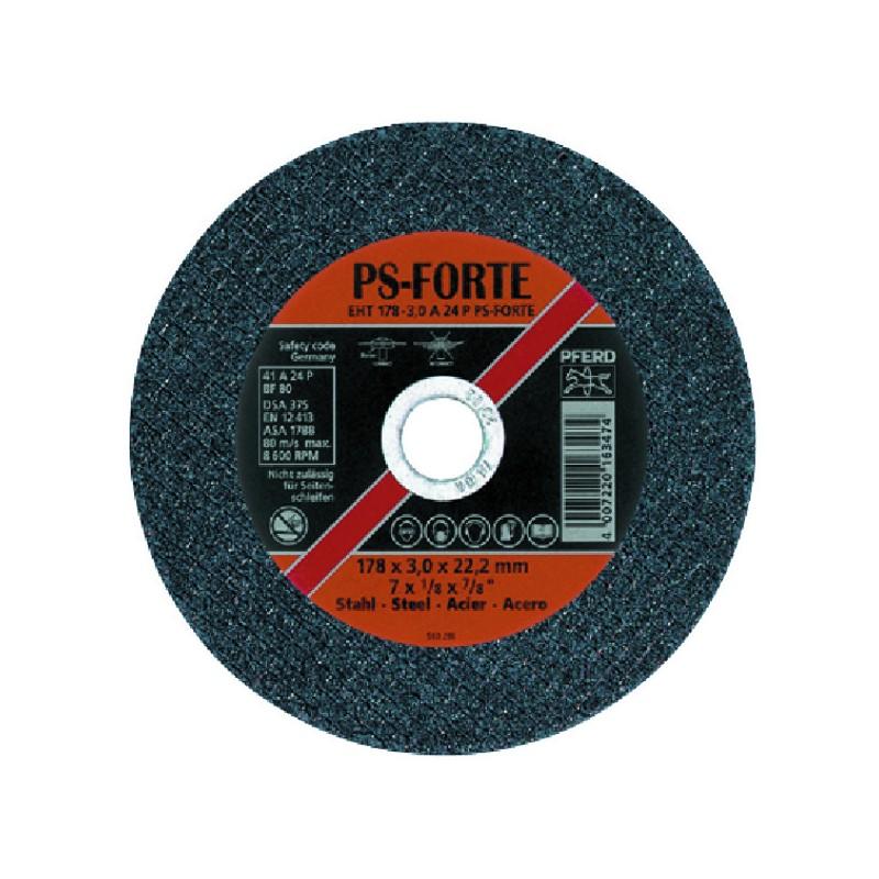 DISQUE 115X7.2 ACIER PPS FORTE PFERD METAUX