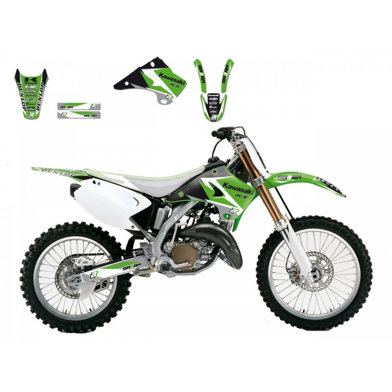 KIT DECO KX125 03-08 KX250 03-08 DREAM GRAPHIC III