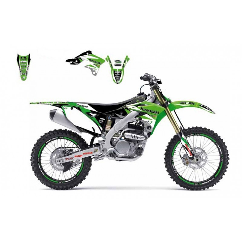 KIT DECO KXF450 09-11DREAM GRAPHIC III