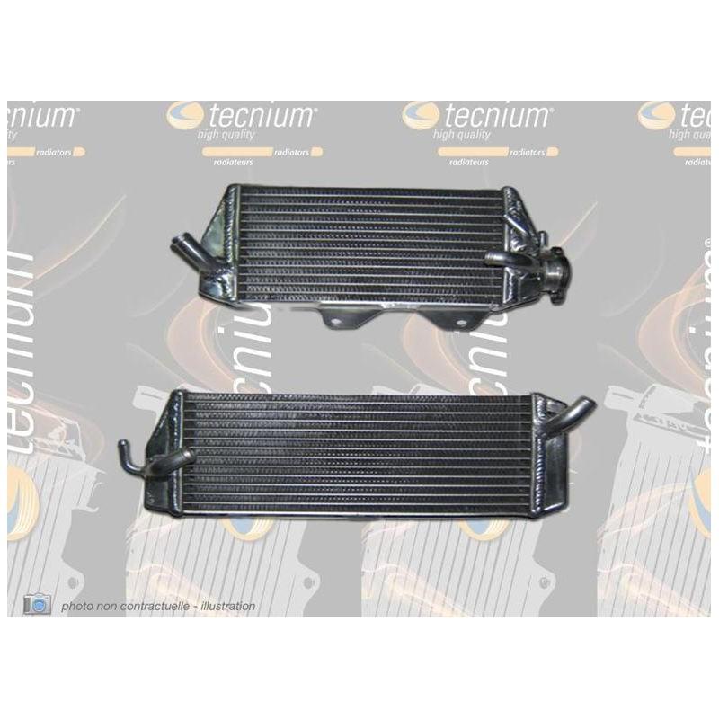 RADIATEUR DROIT TECNIUMKX450F 12-15 SOUDE/GRANDE CONTENANCE