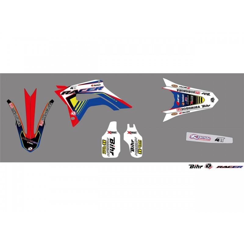 KIT DECO RACER KUTVEKCRF250R 18 CRF450R 17-18 ROUGE