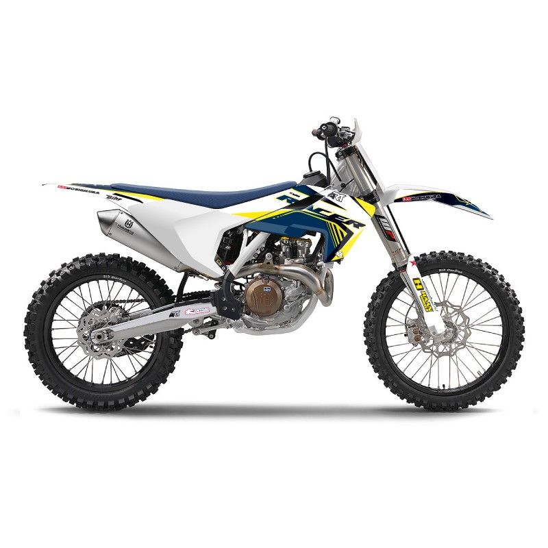 KIT DECO RACER KUTVEKTC/FC 125 & + 16-17 BLANC