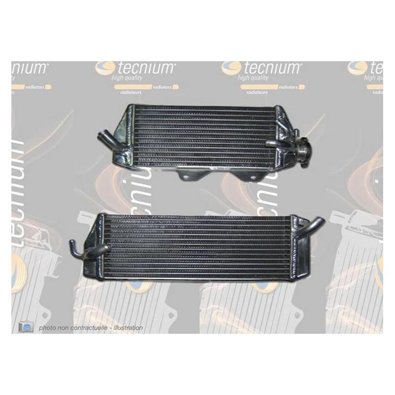 RADIATEUR GAUCHE TECNIUMSX-F250/350/450 16-18 SOUDE/GRANDE CONTENANCE