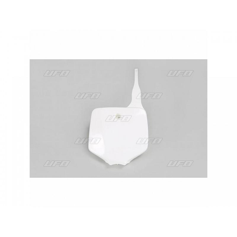 PLAQ. FRONT. KX65 01-09KLX 110 01-09 BLANC KX