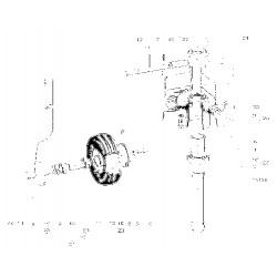 Roulement étanche 50x90x20 mm NTN 6210 lluC3