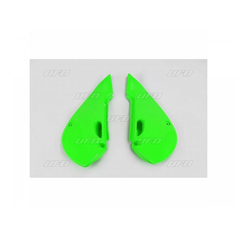 PLAQUES LAT. KX65 01-09KLX 110 01-09 VERT KX ORIGINE