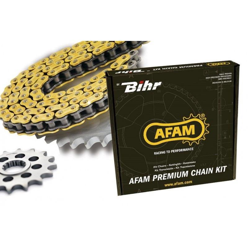 KIT CHAINE AFAM 520 MX4KTM SX450 RAC 04-07 14/52 (520 type MX4)