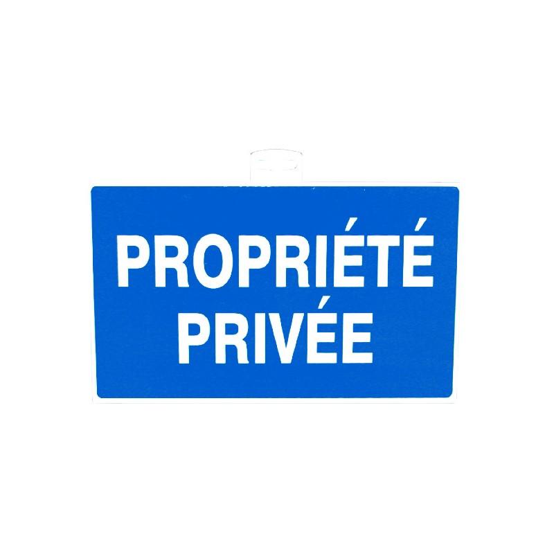 SIGNALETIQUE PROPRIETE PRIVEE