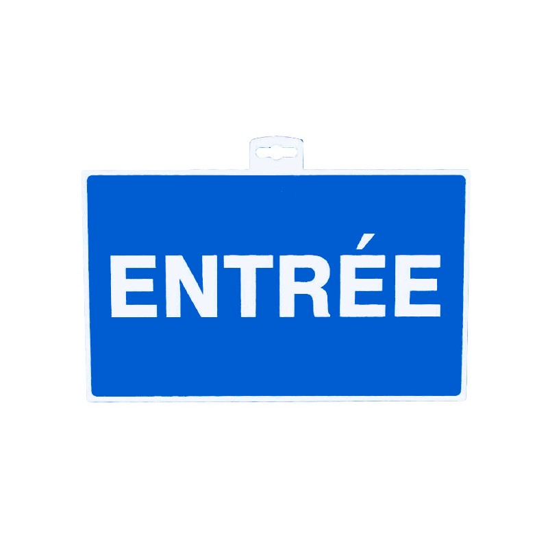 SIGNALETIQUE ENTREE