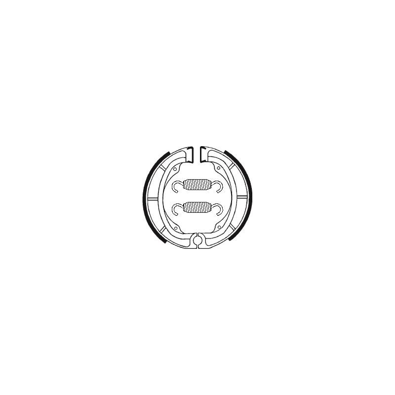 MACHOIRES DE FREIN BA016KDX250 '80-82 LT125-160-185