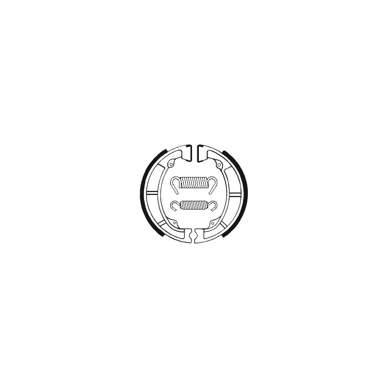 MACHOIRES DE FREIN BA039KX125 '74-81 KLX250 '79-80