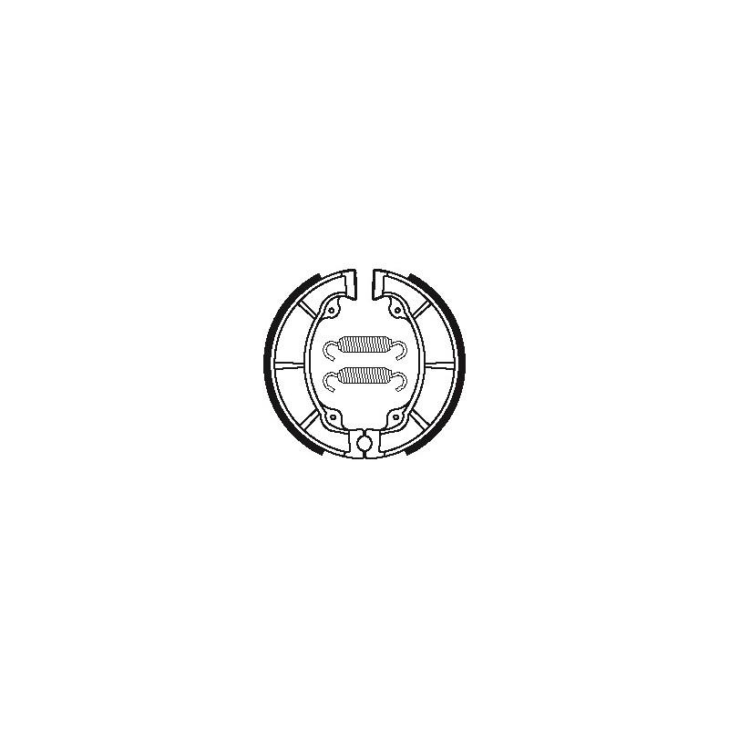 MACHOIRES DE FREIN BA040KX250 '75-81 KDX250 '80-84