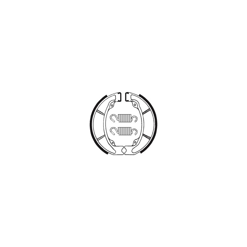 MACHOIRES DE FREIN BA047CR125-250-500 '86