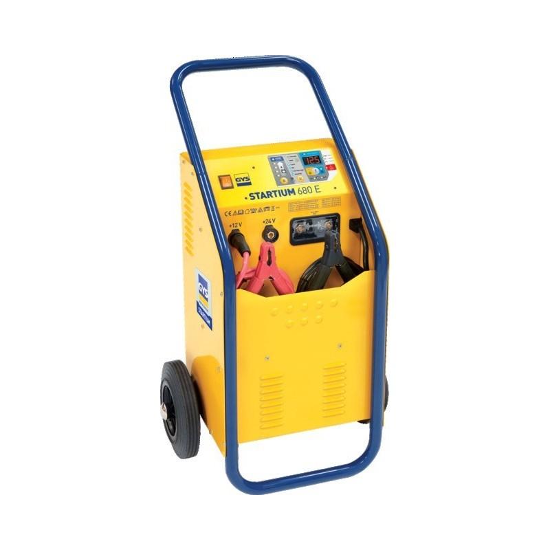 Chargeur démarreur de batterie automatique 12/24 volts 60 à 750 Ah Gystart 924.230
