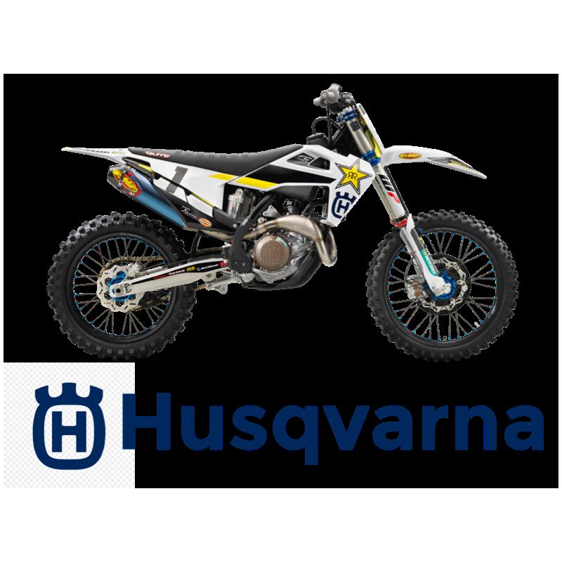 Protections de poignées BLACKBIRD Replica 2016 Ricci Racing Husqvarna