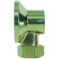 Applique avec écrou diamètre 14 mm brut