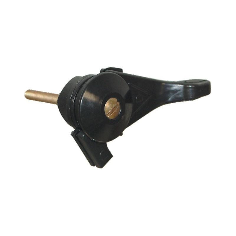 MANETTE GAZ PLASTIQUE FIXATION VIS 6X50MM