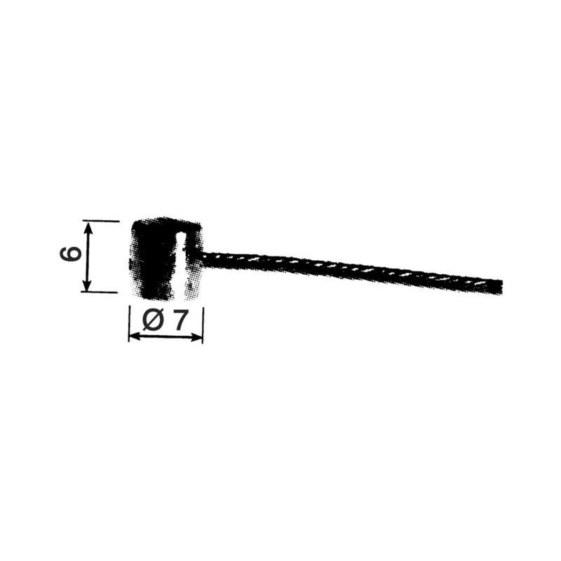 CABLE FREIN POUR VTT Ø1.8MM X 1.8M