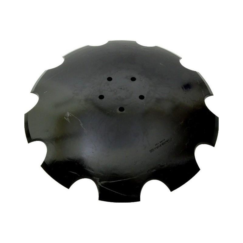 Disque crenele Ø520x6 5trous AD.HORSCH