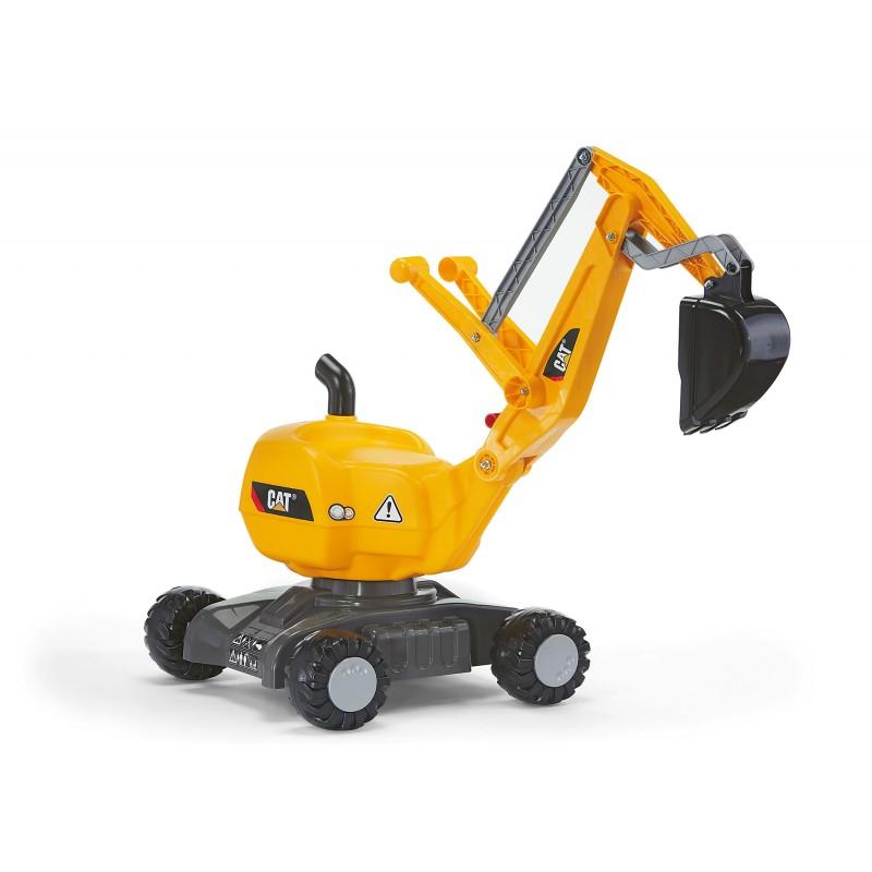 Excavateur Digger CAT sur roues