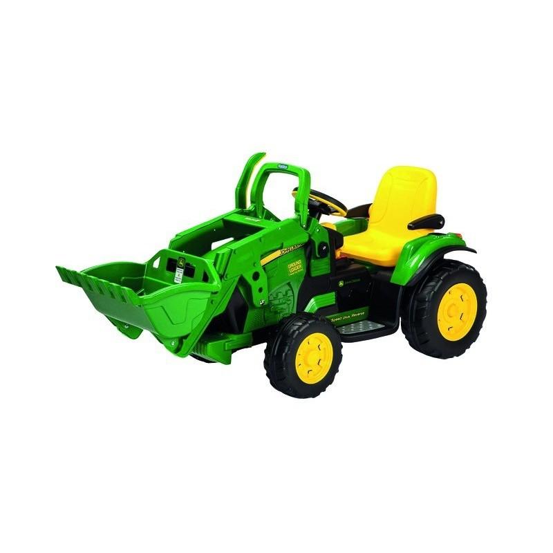 Tracteur John Deere Ground Loader avec pelle avant