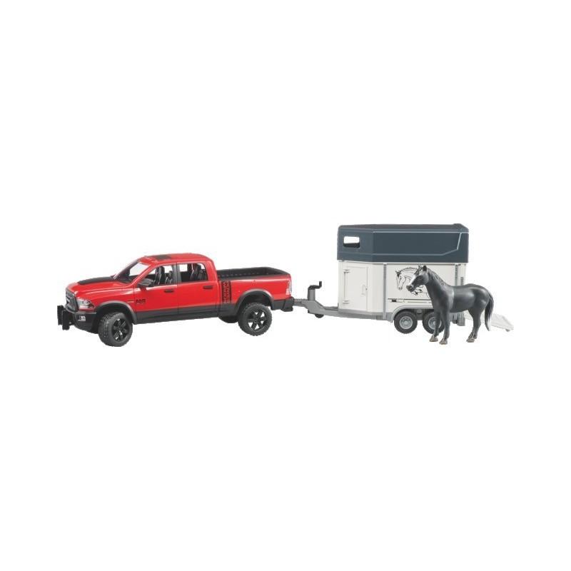 Dodge RAM 2500 Power Wagon avec van et cheval