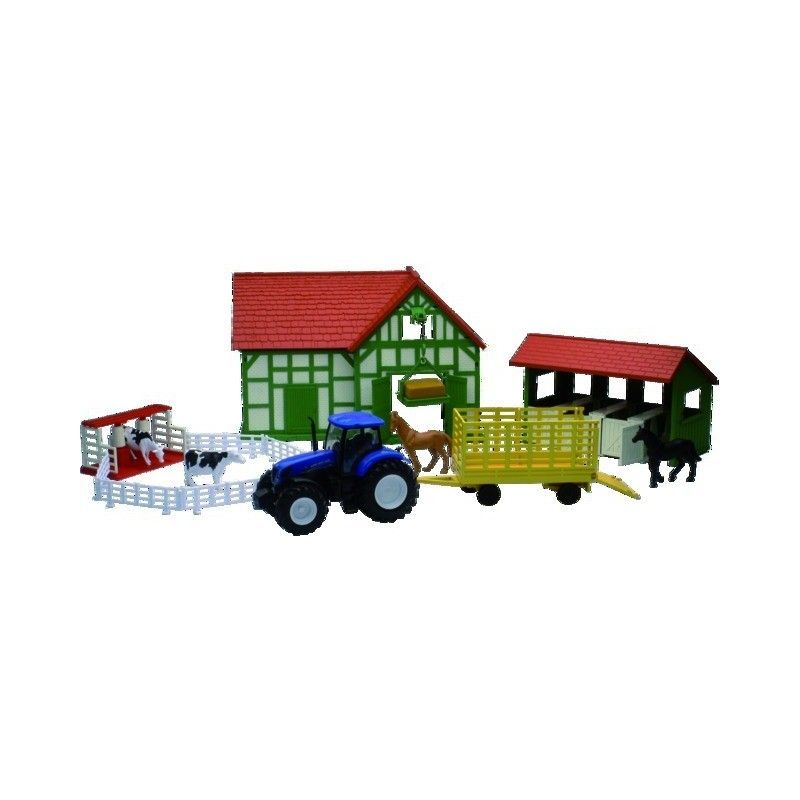 Tracteur New Holland T7.270 et sa ferme