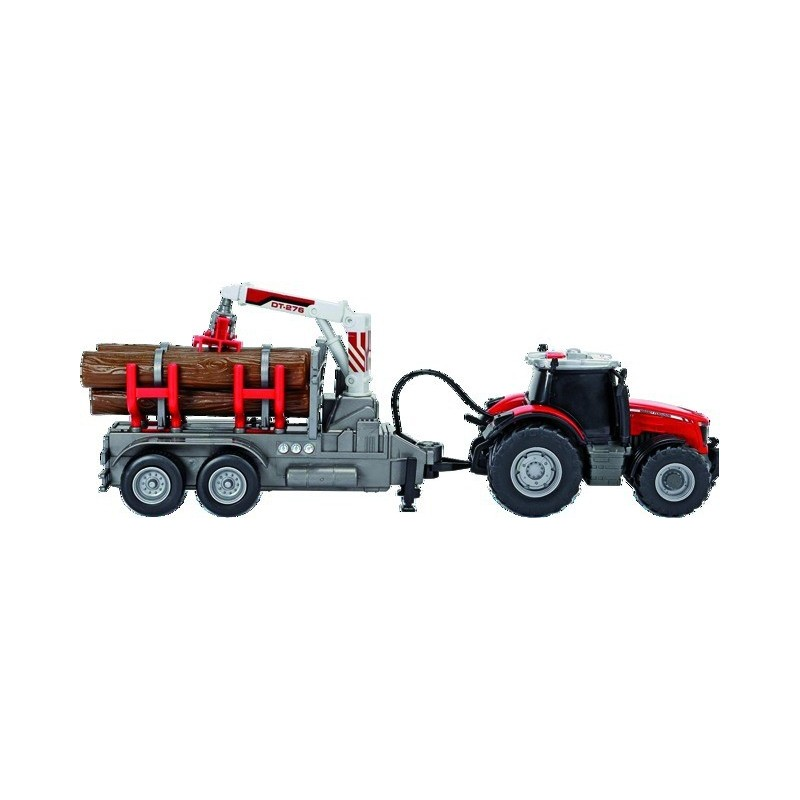 Tracteur forestier Massey Ferguson 8737