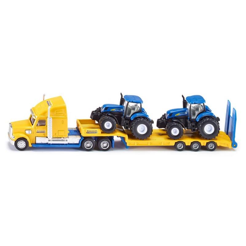 Camion avec tracteurs New Holland