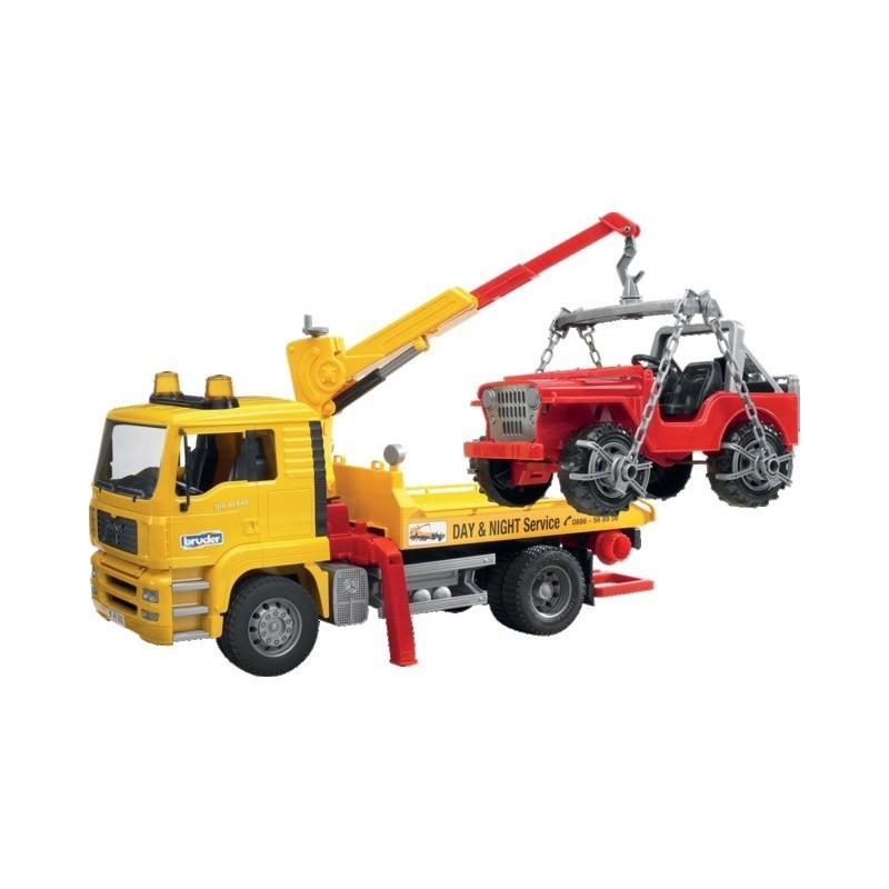Camion dépannage avec portique et Jeep-Man