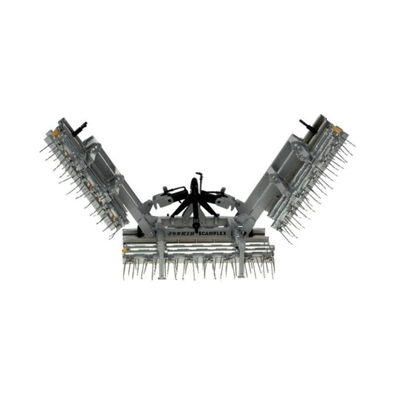 Aérateur de prairie Joskin Scariflex