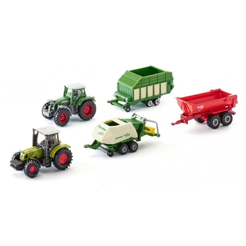 Coffret cadeau 5 pièces agricole 250x105 mm Jouet Papo 6286