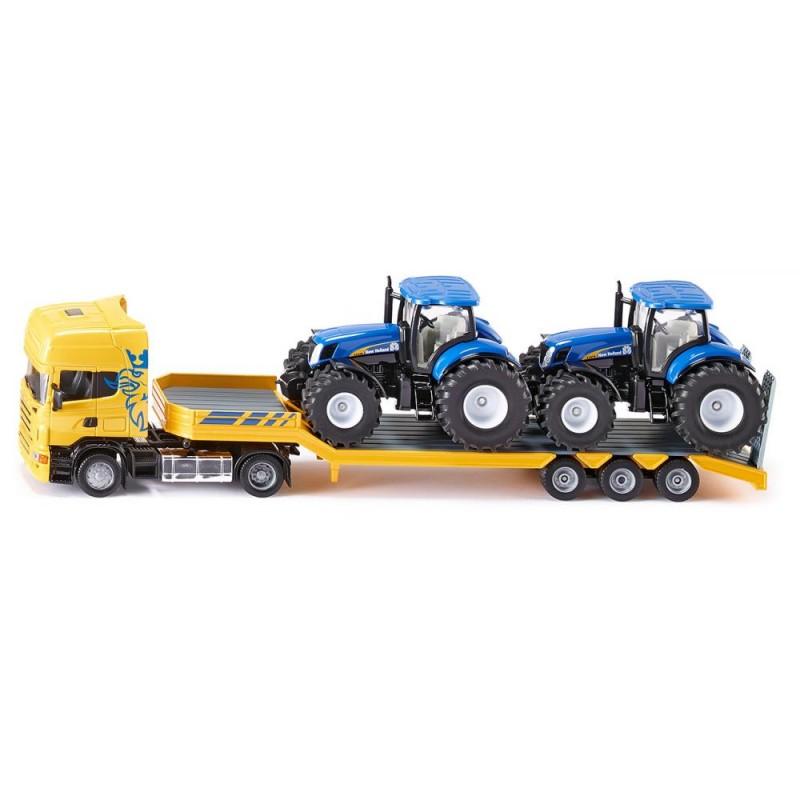 Camion avec tracteurs