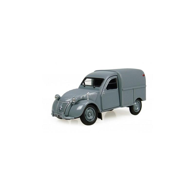 Fourgonnette Citroën 2CV grise