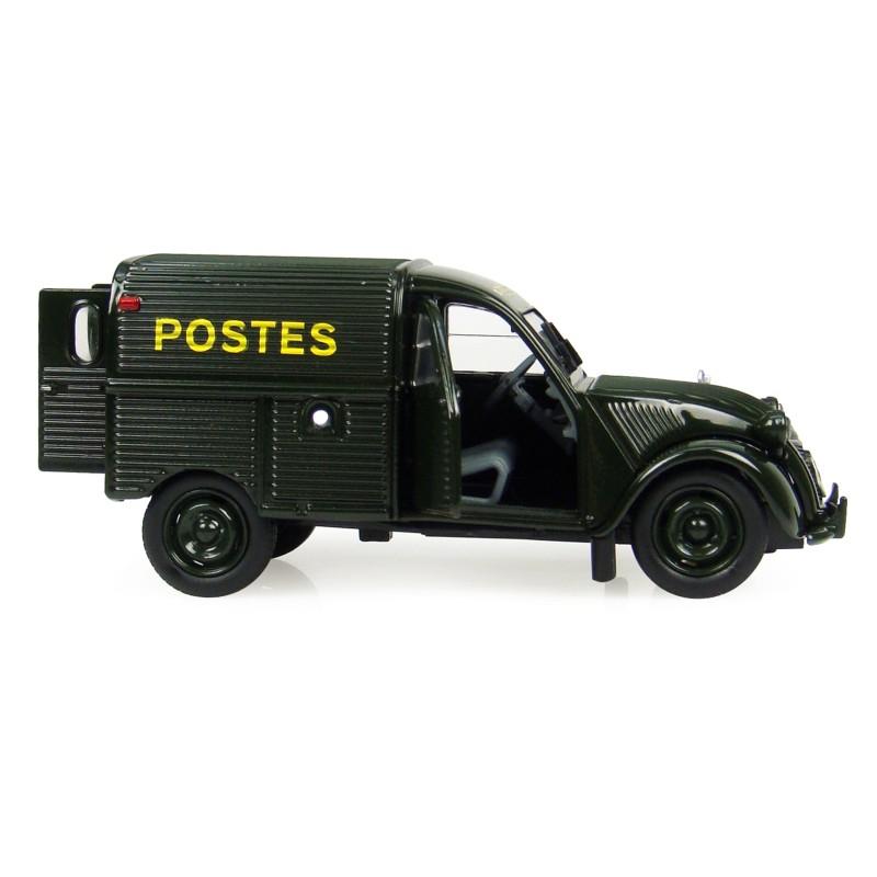 """Fourgonnette Citroën 2CV """"La Poste"""" noire"""