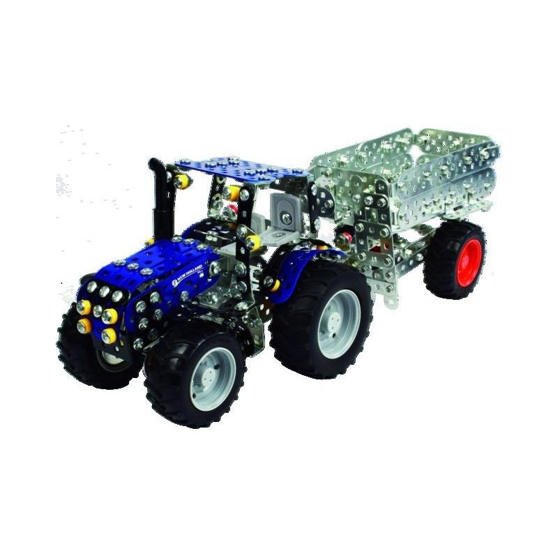 Mini-série - Tracteur NEW HOLLAND T4 + remorque