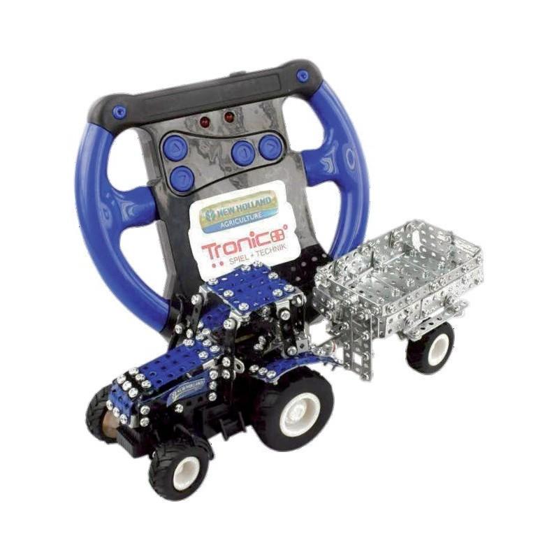 Tracteur Radio Commandé NEW HOLLAND T5.115 + remorque