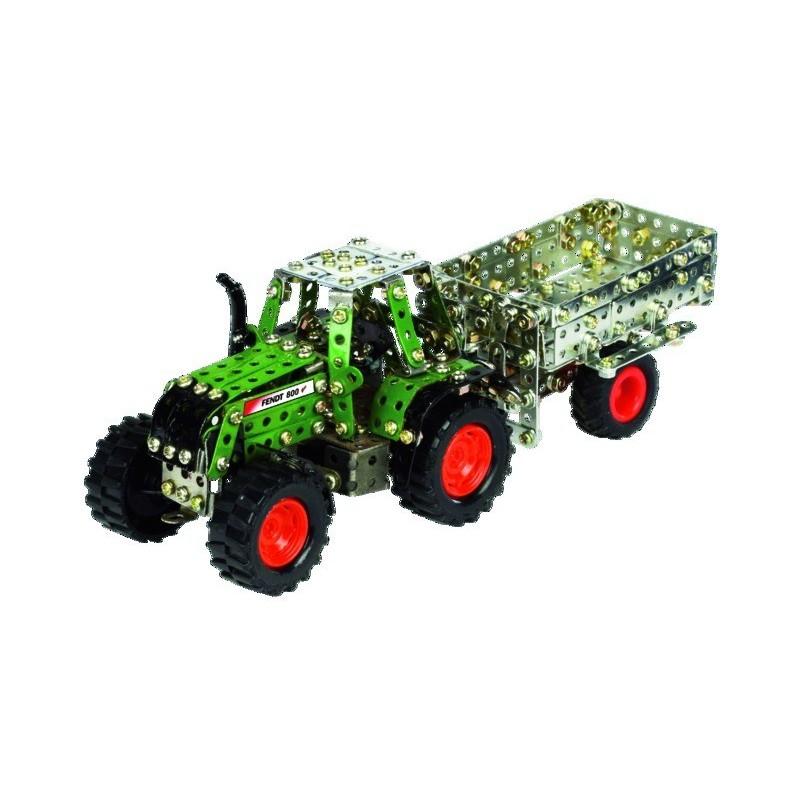 Micro-série - Tracteur FENDT + Led + Remoque