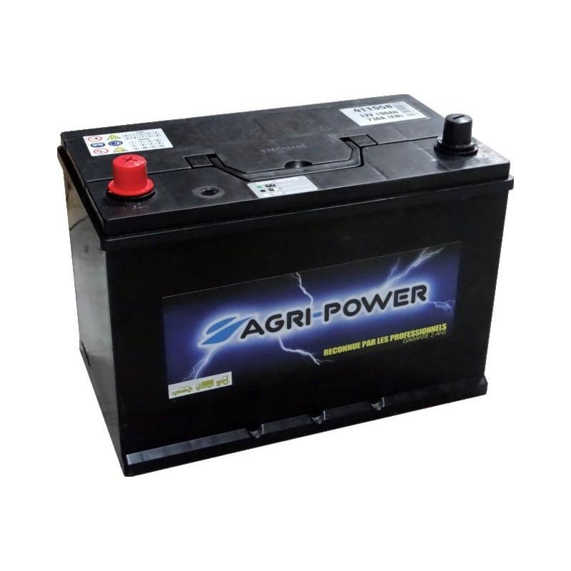 BATTERIE 12V-100AH/730A +G B01 AGRI-POWER