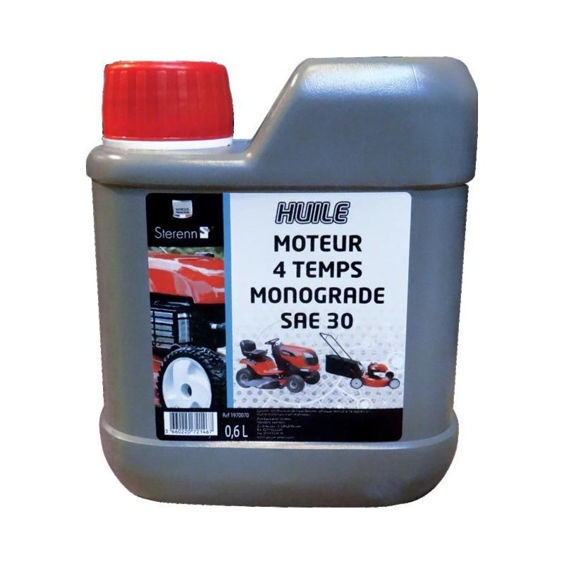 Huile 4 temps Tondeuse SAE 30 0.6 litre dose tondeuse Formule S