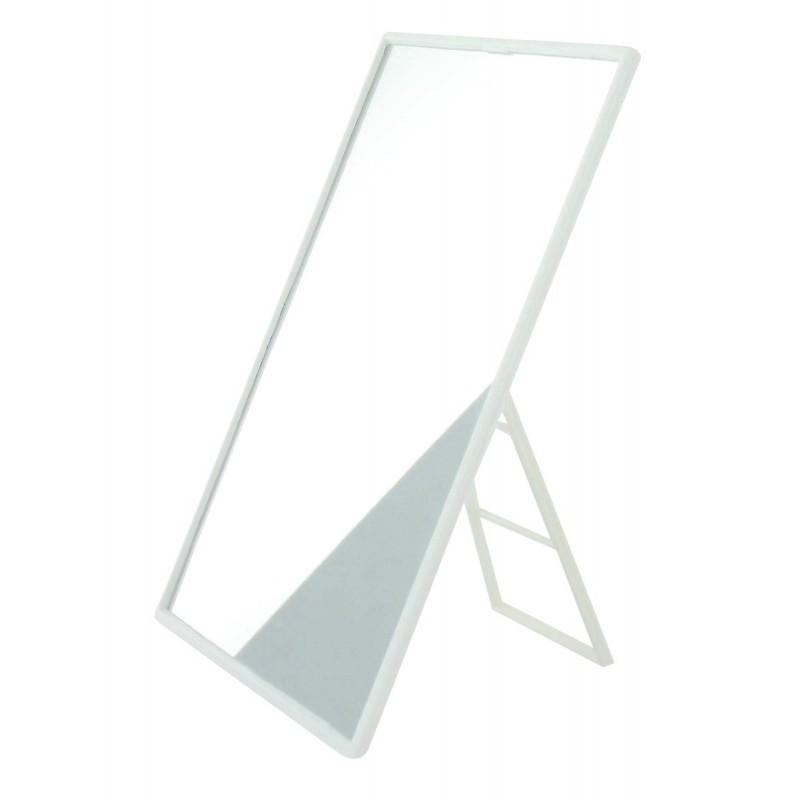 Miroir plastique avec chevalet