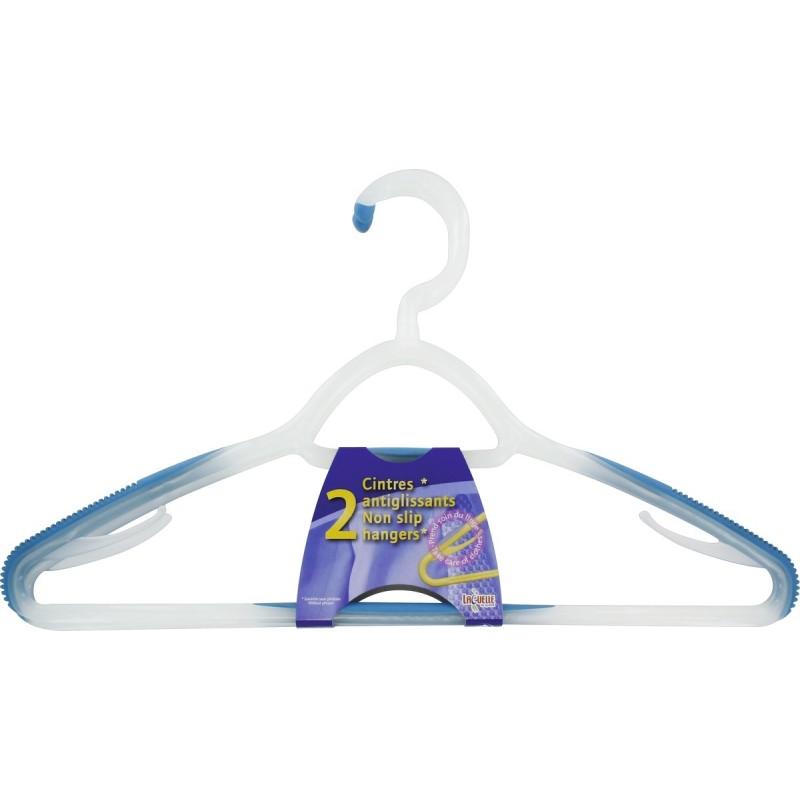 Cintre bi-matière anti-glisse