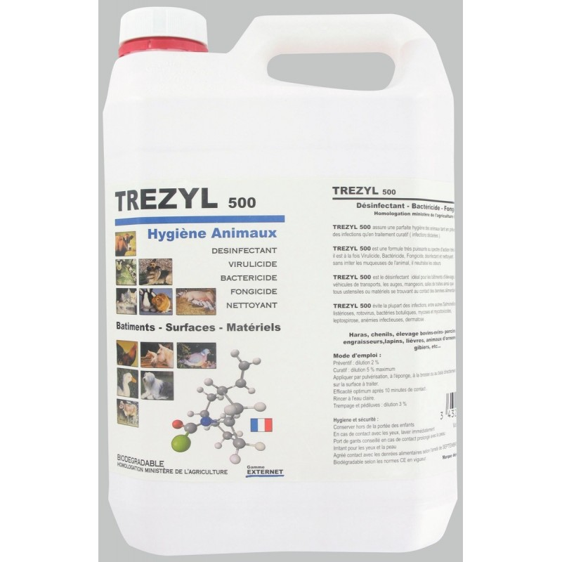 Nettoyant hygiene animaux Trezyl 500