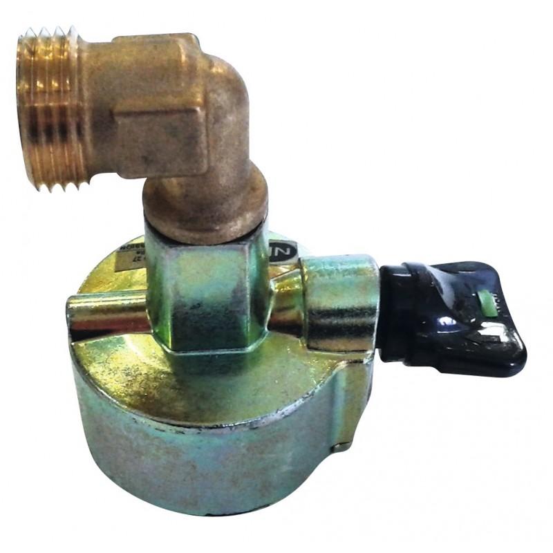 Adaptateur pour bouteille a valve 27mm